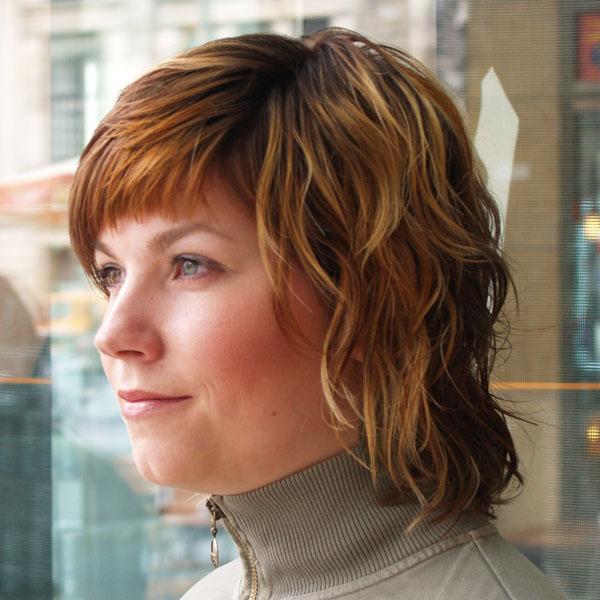 Frisuren Fur Mittellanges Naturgelocktes Haar Helle Haarfarbe 2019